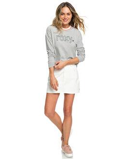 HERITAGE HEATHER WOMENS CLOTHING ROXY TEES - ERJZT04580-SGRH