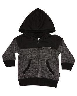 BLACK HEATHER KIDS TODDLER BOYS BILLABONG CLOTHING - 7585601BLH