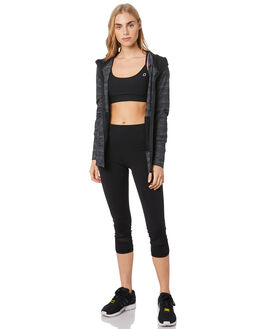 BLACK MARL WOMENS CLOTHING LORNA JANE ACTIVEWEAR - 031895BKMRL