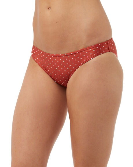 RUST OUTLET WOMENS SWELL BIKINI BOTTOMS - S8171352RST