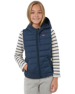 DRESS BLUES KIDS GIRLS ROXY JACKETS - ERGJK03049BTK0