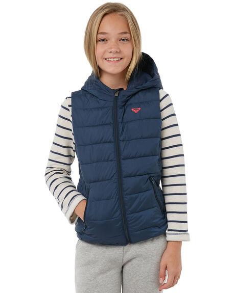 DRESS BLUES KIDS GIRLS ROXY JACKETS - ERGJK03049BTK0