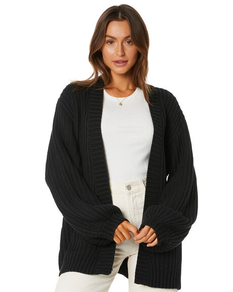 CHARCOAL WOMENS CLOTHING TIGERLILY KNITS + CARDIGANS - T305143CHA