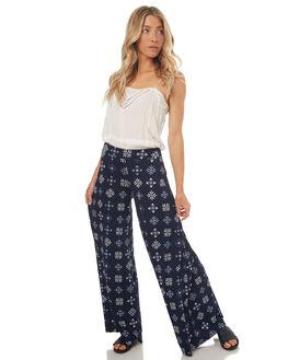 INDIGO WOMENS CLOTHING TIGERLILY PANTS - T372371INDIGO
