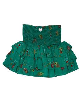 SPRING FLORAL PRINT KIDS GIRLS EVES SISTER SHORTS + SKIRTS - 8044032SPRFL