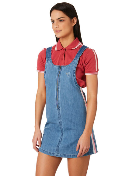 LIGHT WASH OUTLET WOMENS ELEMENT PLAYSUITS + OVERALLS - 283864LWA