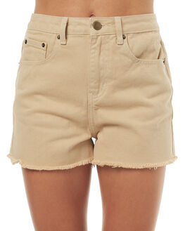 STONE OUTLET WOMENS SWELL SHORTS - S8174234STONE