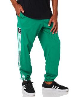 BOLD GREEN WHTE MENS CLOTHING ADIDAS PANTS - EC3314BGRN