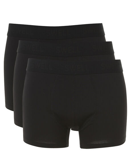 Swell Mens Boxers 3 Pack - Black  efaadd648df