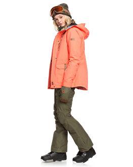 LIVING CORAL BOARDSPORTS SNOW ROXY WOMENS - ERJTJ03238-MJL0