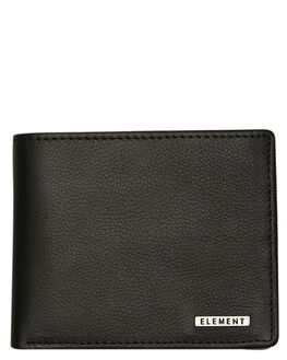 FLINT BLACK MENS ACCESSORIES ELEMENT WALLETS - 184571AFBLK