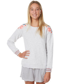 GREY MARLE KIDS GIRLS EVES SISTER JUMPERS - 9990156GRM