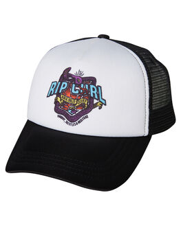 BLACK KIDS BOYS RIP CURL HEADWEAR - OCAPX10090