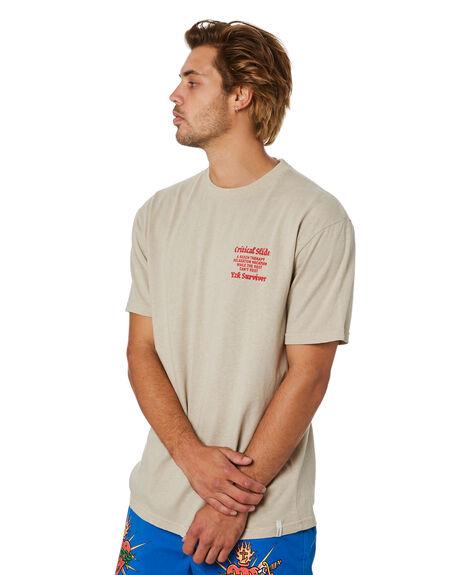 TIDAL FOAM MENS CLOTHING THE CRITICAL SLIDE SOCIETY TEES - TE18250TDFOM