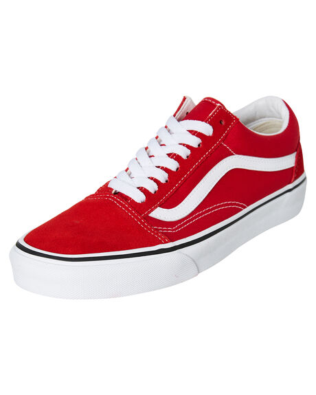 RACING RED WOMENS FOOTWEAR VANS SNEAKERS - SSVNA4BV5JV6W