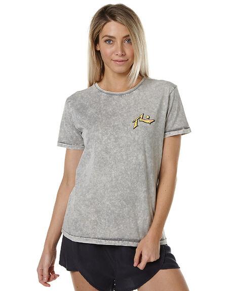 STONE GREY WOMENS CLOTHING RUSTY TEES - TTL0858SOG