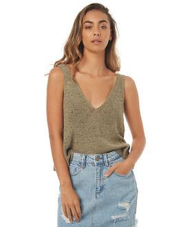 MOSS WOMENS CLOTHING SOMEDAYS LOVIN FASHION TOPS - SL1706800MOSS