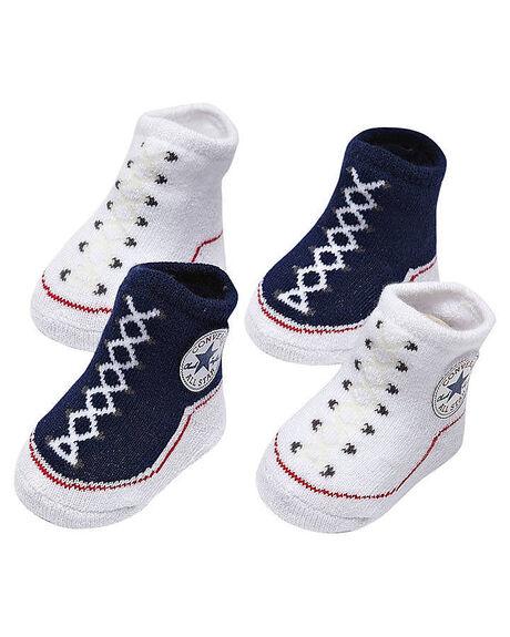 d0d5267177a8 Converse Baby Chuck Taylor Knit Booties - Navy