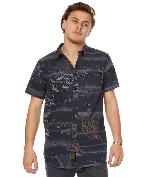 BLACK MENS CLOTHING GLOBE SHIRTS - GB01714002BLK