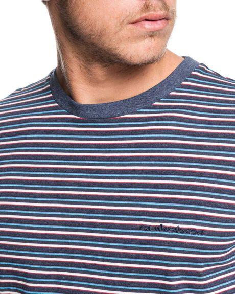 BLUE NIGHT SHERD MENS CLOTHING QUIKSILVER TEES - EQYKT03909-BST3