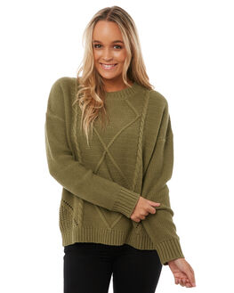 PALM WOMENS CLOTHING RHYTHM KNITS + CARDIGANS - KNW00W-KN01-PALPALM
