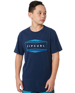NAVY MARLE KIDS BOYS RIP CURL TOPS - KTEVB23277