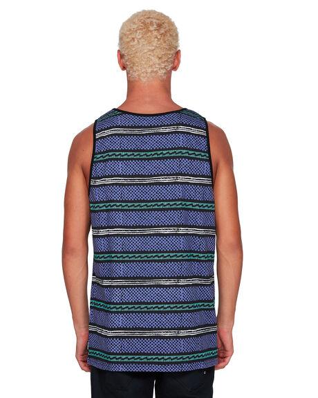 PURPLE MENS CLOTHING BILLABONG SINGLETS - BB-9592508-PUR