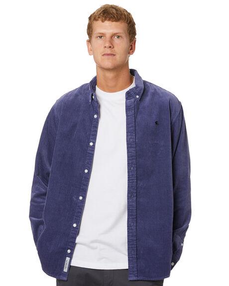 COLD VIOLA BLACK MENS CLOTHING CARHARTT SHIRTS - I0252470F1
