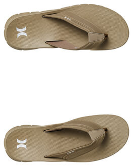 KHAKI MENS FOOTWEAR HURLEY THONGS - 92478235