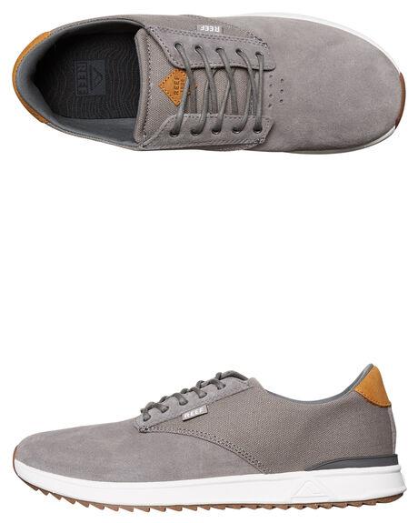 GREY MENS FOOTWEAR REEF SNEAKERS - A2YGOGRE