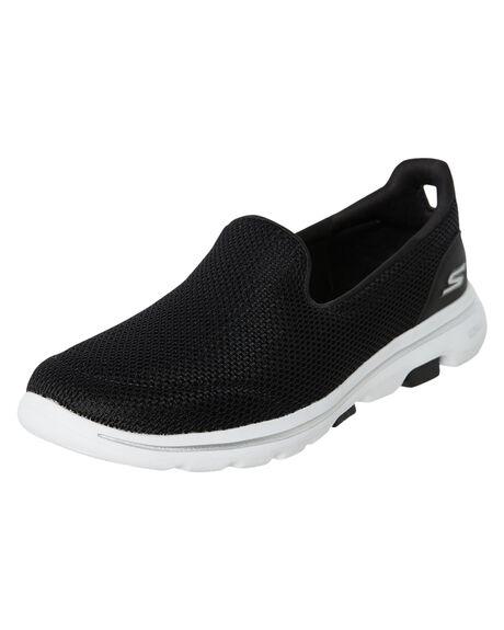 BLACK WOMENS FOOTWEAR SKECHERS SNEAKERS - 15901BKW