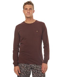 DUSTED TAUPE MENS CLOTHING RHYTHM TEES - OCT17M-CT10-TAU