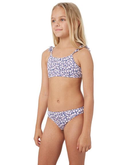 TRUE NAVY KIDS GIRLS BILLABONG SWIMWEAR - 5581556NVY