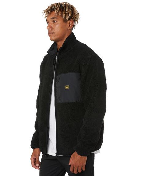 BLACK MENS CLOTHING DEPACTUS JUMPERS - D5203448BLACK