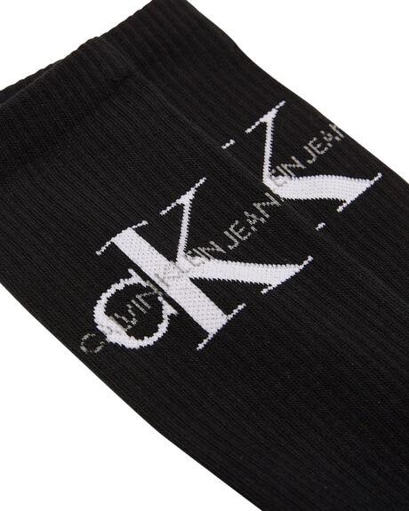BLACK WHITE MENS CLOTHING CALVIN KLEIN SOCKS + UNDERWEAR - ECD261148