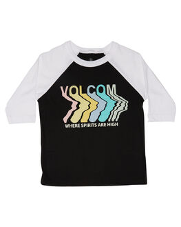 BLACK KIDS TODDLER GIRLS VOLCOM TOPS - B35218L0BLK