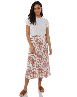 WHITE WOMENS CLOTHING TIGERLILY SKIRTS - T383280WHT