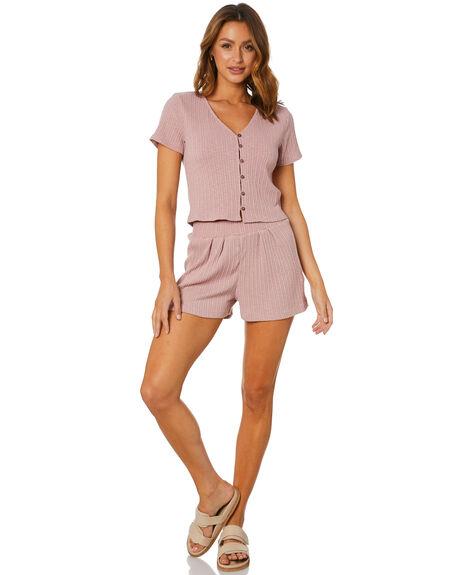 MISTY ROSE WOMENS CLOTHING RUSTY TEES - FSL0573MYE