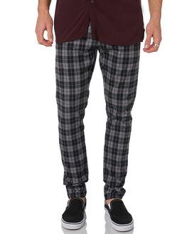 BLACK GREY MARLE MENS CLOTHING ZANEROBE PANTS - 743-METBKGYM