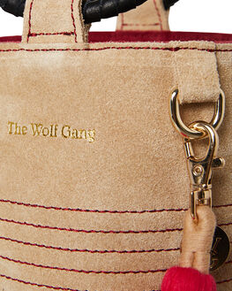 SAND SUEDE WOMENS ACCESSORIES THE WOLF GANG BAGS + BACKPACKS - TWGAW19A05-SASND