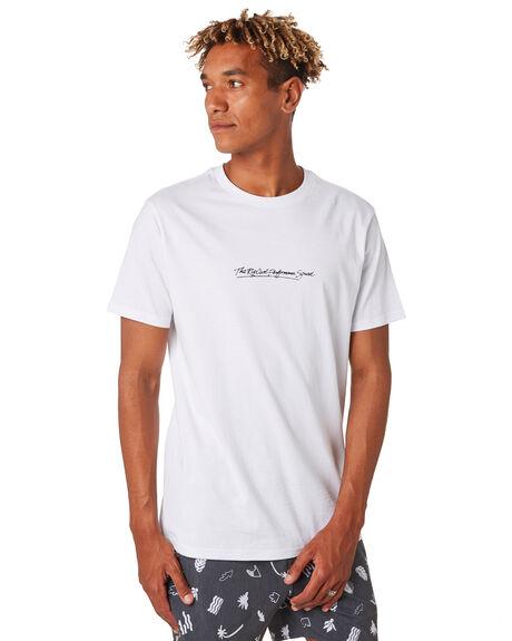 WHITE MENS CLOTHING RIP CURL TEES - CTEVW21000