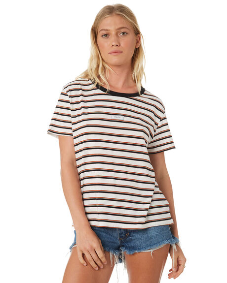 GINGER WOMENS CLOTHING RVCA TEES - R293692GIN