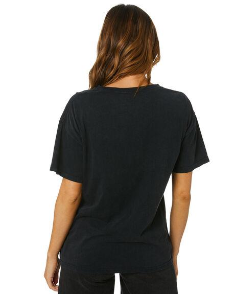 VINTAGE BLACK WOMENS CLOTHING UNIVERSAL TEES - GNR435VBLK