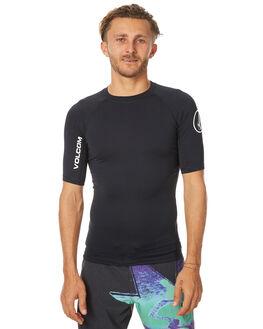 BLACK SURF RASHVESTS VOLCOM MENS - N0111700BLK