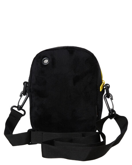 BLACK AND GREEN MENS ACCESSORIES THE BUMBAG CO BAGS + BACKPACKS - CO044BGRN