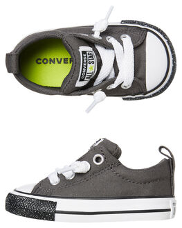 CARBON GREY KIDS BOYS CONVERSE FOOTWEAR - 766028CCGRY