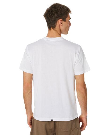 WHITE MENS CLOTHING THRILLS TEES - TH20-107AWHT