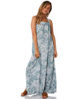 SEA FOAM WOMENS CLOTHING RUSTY DRESSES - DRL0921SEF
