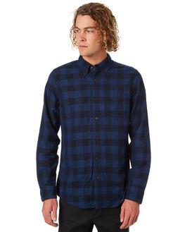 BLUE MENS CLOTHING DEUS EX MACHINA SHIRTS - DMW85189BLU