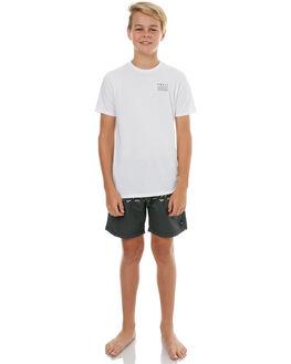 CHARCOAL KIDS BOYS SWELL BOARDSHORTS - S3183231CHAR